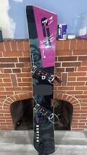 Signature Burton snowboard black and purple