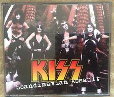 KISS RARE LIVE 4 CD SCANDINAVIUM ASSAULT 1976 LIM.ED INCL.PROMO SAMPLE STICKER