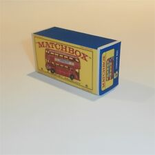 Matchbox Lesney  5 d2 Routemaster London Bus empty Repro E style Box