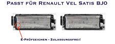 LED SMD Kennzeichenbeleuchtung Renault Vel Satis BJ0 (06)