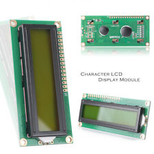 New 5V DC 1602 16x2 HD44780 Character LCD Display Module LCM Yellow Backlight
