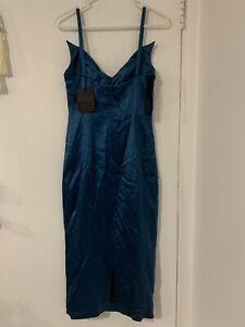 L'Wren Scott Dress in Teal NWT Size 6/8 (lc40)