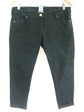 Sass & Bide Size 29 Black Cropped Skinny Crop Denim Jean *WOW*