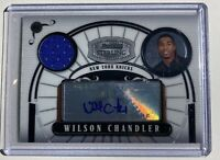 2008-08 Topps Bowman Sterling Wilson Chandler JSY Auto Rookie Autograph 037/218
