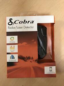 Cobra Radar Laser 360 Degree Detector LED Icons/Safety Alert/Auto Mute /12 Bands