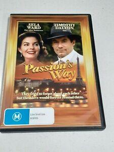 Passion's Way DVD - Sela Ward Timothy Dalton - Region 4 AU