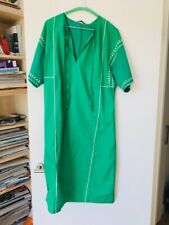 Zara Green Dress Size MEDIUM NEW