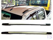 Roof Rack Ornament Silver Line Fits Toyota Hilux Revo 4 Door Sr5 2015 - 2017