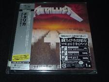 Master of Puppets  Metallica  JAPAN LTD MINI LP SHM-CD SEALED