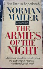 The Armies of the Night - History Novel by Norman  Mailer - 1968 Paperback Book