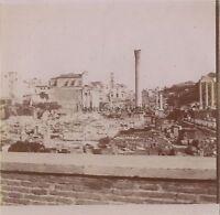 Viaggio IN Italia Roma Foto Amateur Vintage Citrato Ca 1900 #9