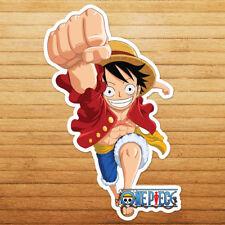 Luffy One Piece Jolly Roger Straw Hat Wall Car Die Cut Window Decal Sticker