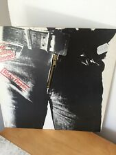 ROLLING STONES STICKY FINGERS 1979  RE GERMANY LP NEAR MINT