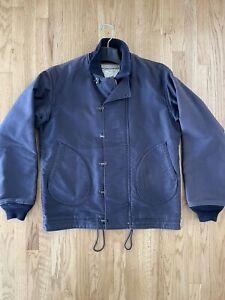Mister Freedom Deck Jacket Troy N1-H USN Coat Navy 40 M L WW2 Sugar Cane