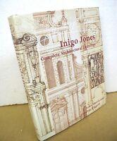 Inigo Jones - Complete Architectural Drawings by John Harris 1989 HB/DJ