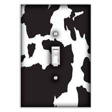 Cow Print Light Switch Sticker Vinyl Skin cover sw23