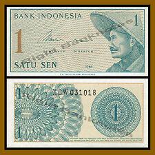 Indonesia 1 Sen, 1964 P-90 Replacement (X) Unc
