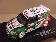 Ixo 1/43 Diecast Skoda Fabia S2000, 3rd 2010 Monte Carlo Rally, Skoda #7 #RAM420