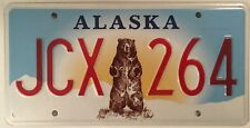 KATMAI NATIONAL PARK BROWN BEAR license plate Grizzly Wild Wildlife Denali Creek