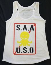 "JAPAN ANIME ""ASSASSINATION"" CLASSROOM NWOT  WOMENS TANK TOP SIZE: L  MSRP $24.50"