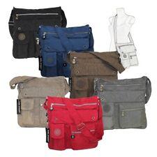 Bag Street Nylon Umhängetasche Nylontasche Handtasche Damentasche Farbwahl