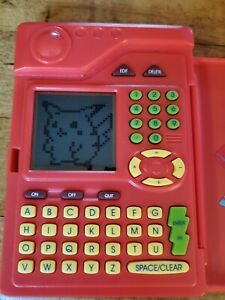 1998 Original Pokemon PokedexHandheld Game Tiger TESTED & WORKS!