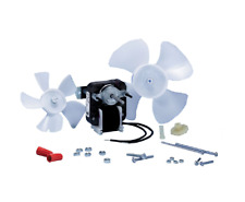 "Electric Fan Motor Kit w/Blower Wheels 1/4"" Shaft 120V Bathroom Exhaust Vent"