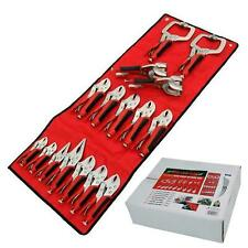 Neilsen 16pc Soft Grip Mole Vice Plier Set Welding Long Nose Locking C Clamp