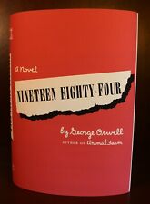 George Orwell 1984 Nineteen Eighty Four 1st First American Edition 1949
