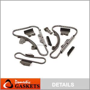 Fit 90-96 Infiniti Q45 4.5L DOHC Timing Chain Kit without Gears VH45DE