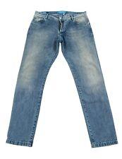 Kiton 42US/58EU Cotton Limited Editon 5-Pocket Jeans Blue Light Wash Blue Detail