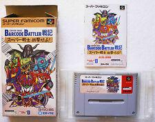 BARCODE BATTLER CONVENI WARS sur Nintendo Super Famicom SNES
