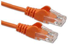 Cat 5e RJ45 10/100 Ethernet Network Cable Cat5 Router Lead long 10m ORANGE