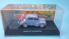 SPIROU & FANTASIO Voiture Renault 4CV  N°3  1/43 no tintin