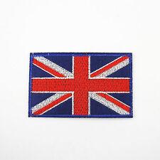 UNION JACK BRITISH FLAG Small Iron On/ Sew Patch United Kingdom UK Great Britain