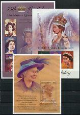 Grenada Grenadinen 2001 Königin Elisabeth QE II 75. Geburtstag 3588-96 + Bl.524
