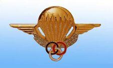 Insigne Brevet Moniteur Parachutiste de l'Armée de Terre Française DRAGO