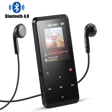 AGPTEK 16GB Bluetooth 4.0 MP3 Player with Speaker Portable Lossless Music Player