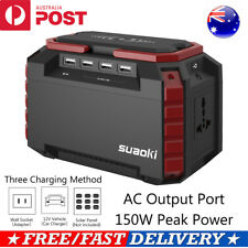 Suaoki S270 150Wh Portable Power Charging Station Solar Generator Camping Backup