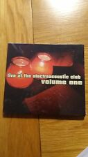 Live At The Electroacoustic Club Volume 1 (2005) Various Artists NEW & SEALED