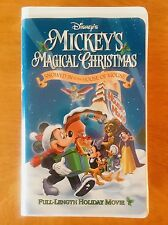 Disney's Mickey's Magical Christmas Snowed In at the House of Mouse VHS 2001