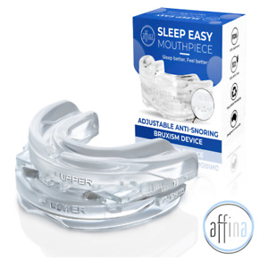 Anti Snore Mouthpiece Mouth Guard Stop Snoring Grinding Sleep Aid Mouthguard