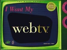 I Want My WebTV (tm)