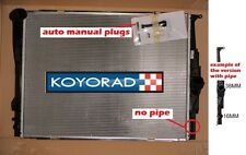 RADIATOR BMW 1 Series E82 E87 E88 118i 120i 125i 130d Auto Man 05-*No Pipe* Koyo