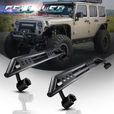 Pair Nerf Bar Side Step Armor Running Board for 07-17 Jeep JK Wrangler 4 Door