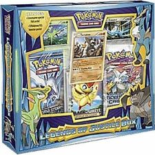 Pokemon TCG Legends of Justice Collection Box Plasma Storm Booster Pack Cards