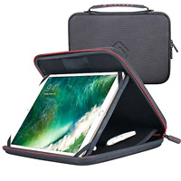 Apple iPad 10.5 10.2 Hard Case Briefcase Sleeve Phone Pen Holder Folio Padfolio