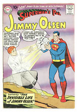 SUPERMAN'S PAL JIMMY OLSEN #40 4.5 CURT SWAN ART OW PGS 1959