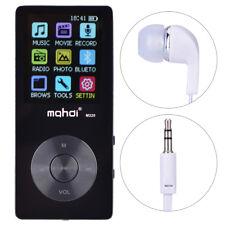 "Portable 2"" Inch LCD Screen Display Music Media MP4 Player 720P Full-HD 8GB BT"