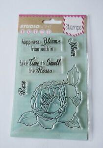 Studio Light Basic Clear Stamps Floral Design - Happiness Blooms... STAMPSL271